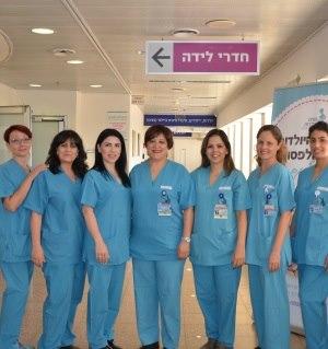 תמונה מעבודת מרכז רפואי וולפסון - חדרי לידה-3