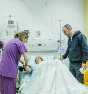 תמונה מעבודת מרכז רפואי קפלן - חדרי לידה-2