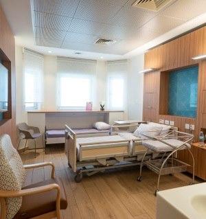 תמונה מעבודת בית חולים ליס (איכילוב) - חדרי לידה-1