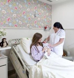 תמונה מעבודת מרכז רפואי רבין (בילינסון) - חדרי לידה-3