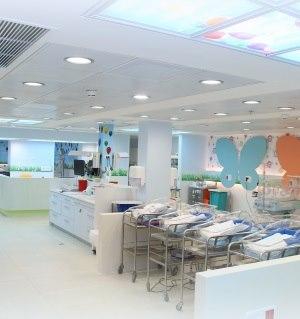 תמונה מעבודת מרכז רפואי מאיר - חדרי לידה-1