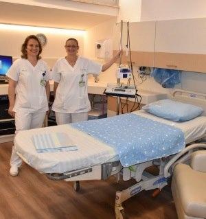 תמונה מעבודת מרכז רפואי כרמל - חדרי לידה-3