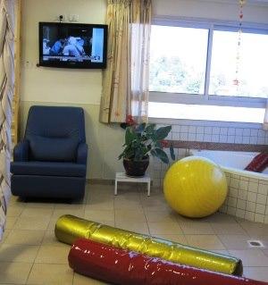 תמונה מעבודת מרכז רפואי זיו - חדרי לידה-3
