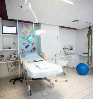 תמונה מעבודת בית חולים אסותא אשדוד - חדרי לידה-1