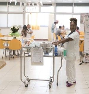 תמונה מעבודת מרכז רפואי בני ציון - חדרי לידה-1
