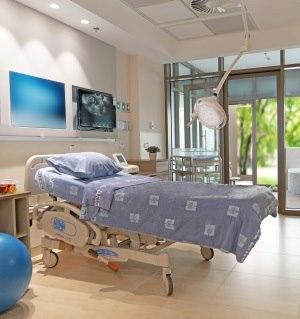 תמונה מעבודת בית חולים הדסה הר הצופים - חדרי לידה-2