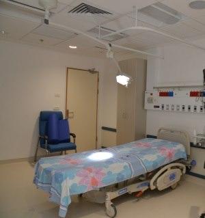 תמונה מעבודת מרכז רפואי ברזילי - חדרי לידה-2