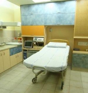 תמונה מעבודת מרכז רפואי שערי צדק - חדרי לידה-1