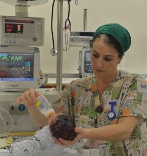 תמונה מעבודת מרכז רפואי שערי צדק - חדרי לידה-3