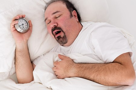 ירידה במשקל תוביל לירידה בשיעור דום הנשימה (אילוסטרציה shutterstock)