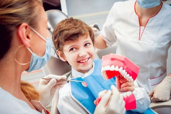ככל שהילד יגיע לביקור מוקדם יותר, כך הוא יבטח ברופא השיניים. צילום: שאטרסטוק