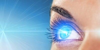 הסרת משקפיים בלייזר (אילוסטרציה)