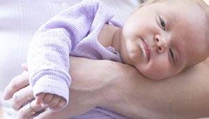 ריפלוקס בתינוקות (אילוסטרציה צילום shutterstock)