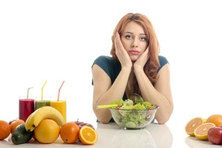 אורתורקסיה - התמכרות כפייתית לאכילה בריאה. צילום: שאטרסטוק