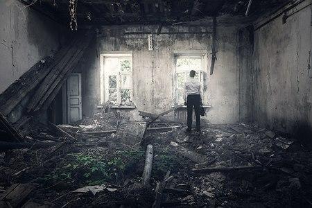 אובדן בית. צילום: shutterstock