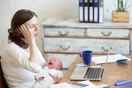 לדיכאון אחר לידה תסמינים ברורים (אילוסטרציה shutterstock)