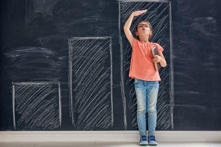 """גדילה מואצת היא מצב שבו הילד """"מטפס"""" מעבר לקו האחוזון. צילום: שאטרסטוק"""