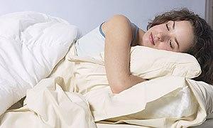 בעיות שינה (אילוסטרציה)