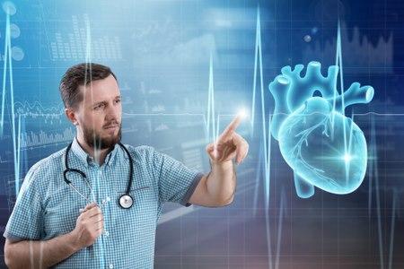 הקצב החשמלי של פרוזדורי הלב מהיר מאוד בעת פרפור פרוזדורים. צילום:שאטרסטוק
